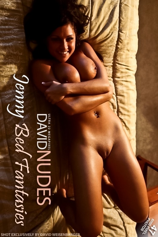 Jenny - `Bed Fantasies` - by David Weisenbarger for DAVID-NUDES