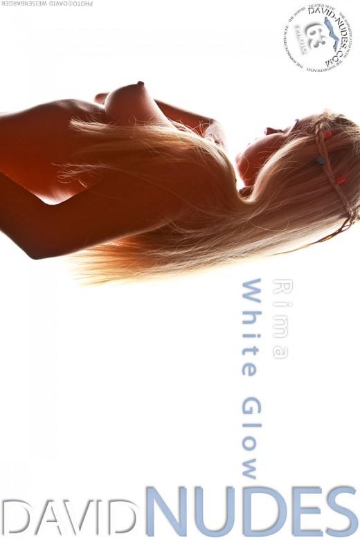 Rima - `White Glow` - by David Weisenbarger for DAVID-NUDES