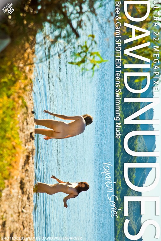 Bree & Cami - `SPOTTED! Teens Swimming Nude` - by David Weisenbarger for DAVID-NUDES