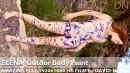 Elena - Outdor Body Paint