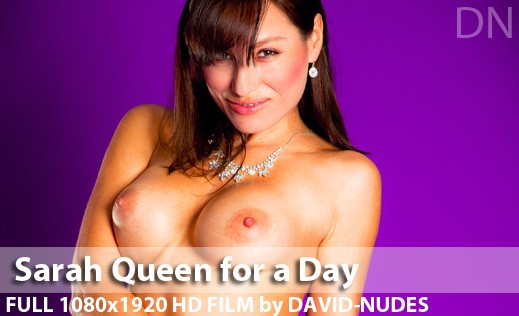 Sarah - `Queen For a Day` - by David Weisenbarger for DAVID-NUDES