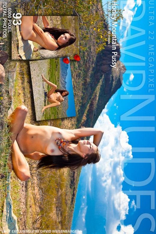 Honey - `Mountain Pussy - Pack #2` - by David Weisenbarger for DAVID-NUDES