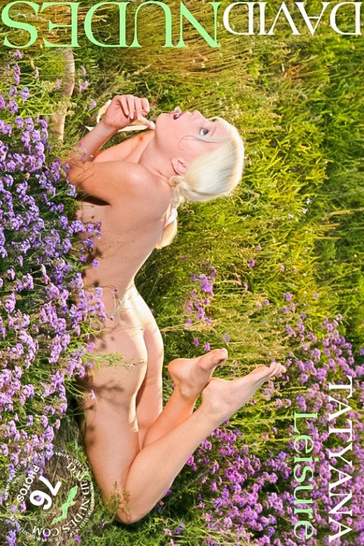 Tatyana - `Leisure` - by David Weisenbarger for DAVID-NUDES