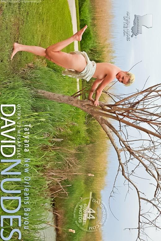 Tatyana - `New Orleans Bayou` - by David Weisenbarger for DAVID-NUDES