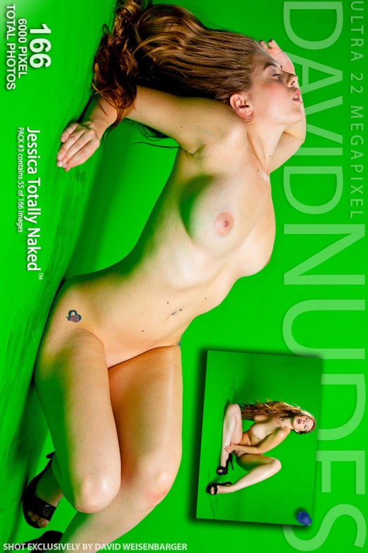 Jessica - `Totally Naked - Pack #3` - by David Weisenbarger for DAVID-NUDES