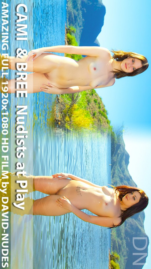 Bree & Cami - `Nudists At Play` - by David Weisenbarger for DAVID-NUDES
