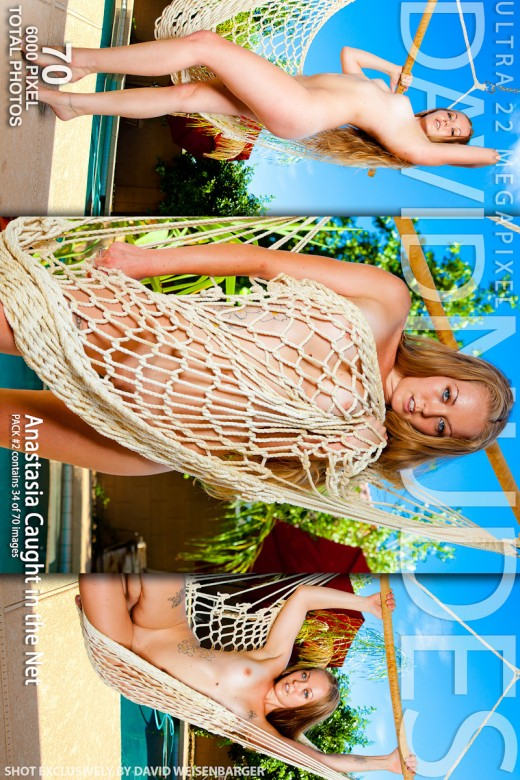 Anastasia - `Caught In The Net - Pack #2` - by David Weisenbarger for DAVID-NUDES