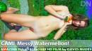 Messy Watermellon!