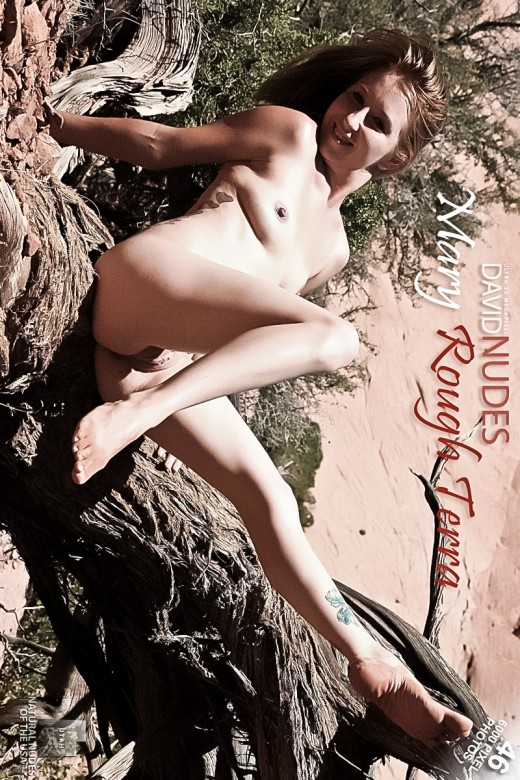 Mary - `Rough Terra` - by David Weisenbarger for DAVID-NUDES