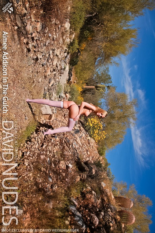 Aimee Addison - `In The Gulch` - by David Weisenbarger for DAVID-NUDES