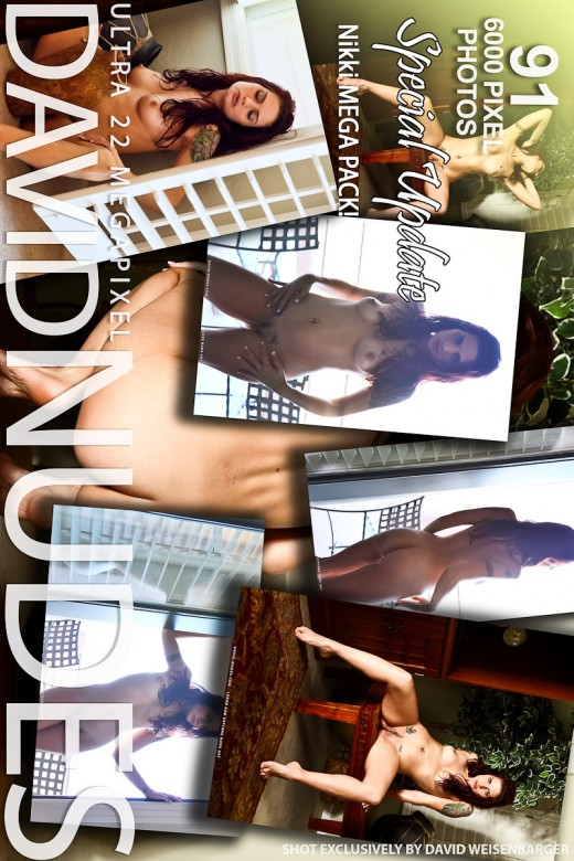 Nikki - `Mega Pack!` - by David Weisenbarger for DAVID-NUDES
