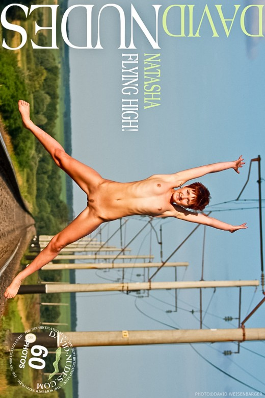 Natasha - `Flying High!` - by David Weisenbarger for DAVID-NUDES