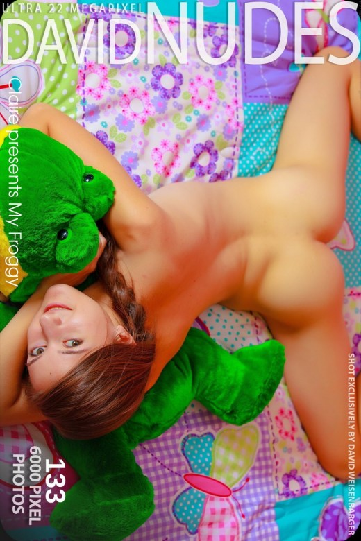 Claire - `My Froggy` - by David Weisenbarger for DAVID-NUDES