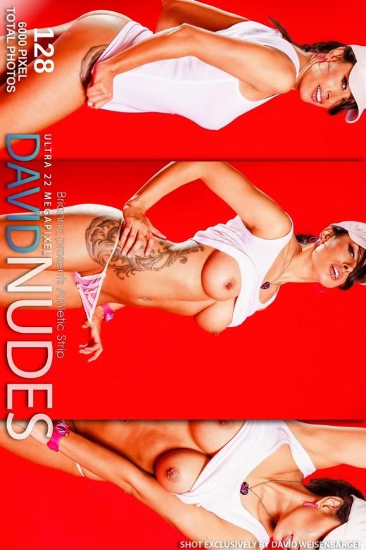 Brianna - `Athletic Strip` - by David Weisenbarger for DAVID-NUDES