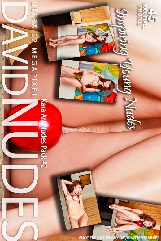 Kara - `Art Nudes - Pack #2` - by David Weisenbarger for DAVID-NUDES