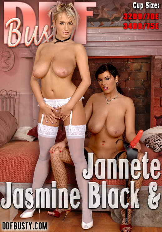 Jasmine Black & Jannete - `9271` - for DDFBUSTY
