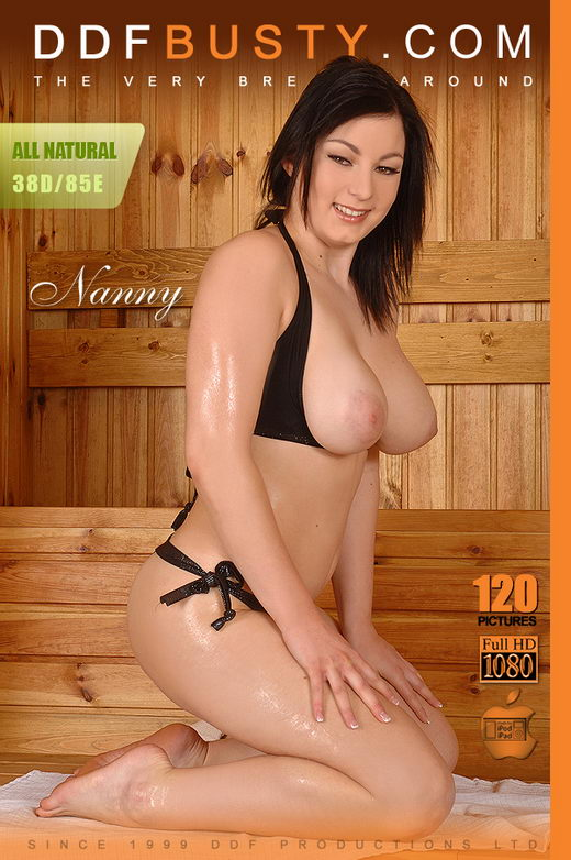 Nanny - `Nanny Sizzles In The Sauna!` - for DDFBUSTY
