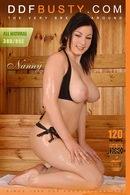 Nanny Sizzles In The Sauna!