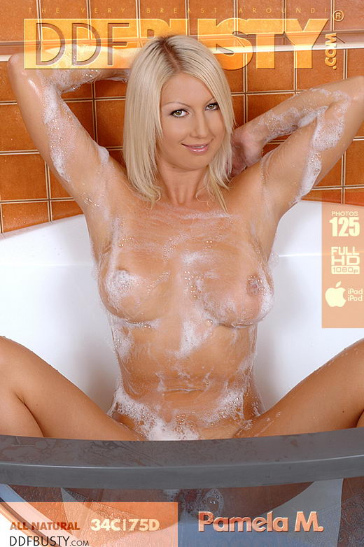 Pamela M - `Caught in her Soapy Storm!` - for DDFBUSTY