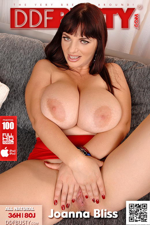 Joanna Bliss - `Cup-Stretching Classic!` - for DDFBUSTY