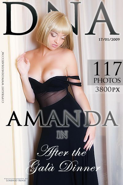Amanda - `After The Gala Dinner` - by Lorenzo Renzi for DENUDEART