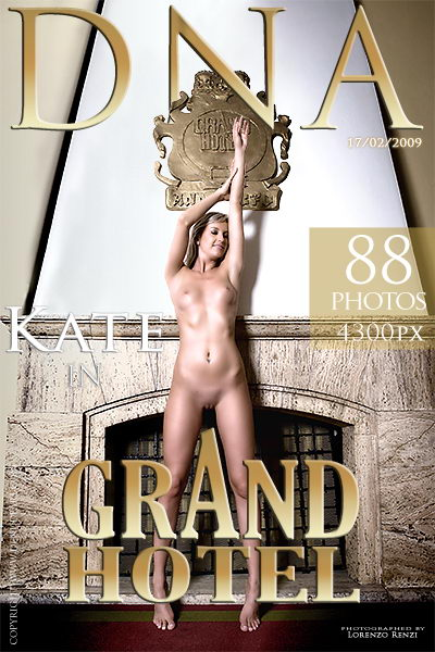 Kate - `grand Hotel` - by Lorenzo Renzi for DENUDEART