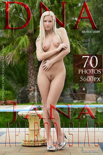 Jana - `Aphrodisiac` - by Lorenzo Renzi for DENUDEART