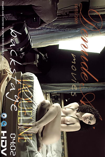 Jaqueline - `Backstage` - by Lorenzo Renzi for DENUDEART