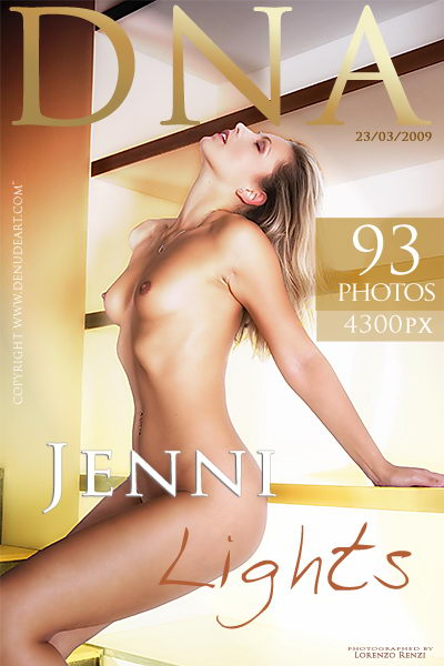 Jenni - `Lights` - by Lorenzo Renzi for DENUDEART