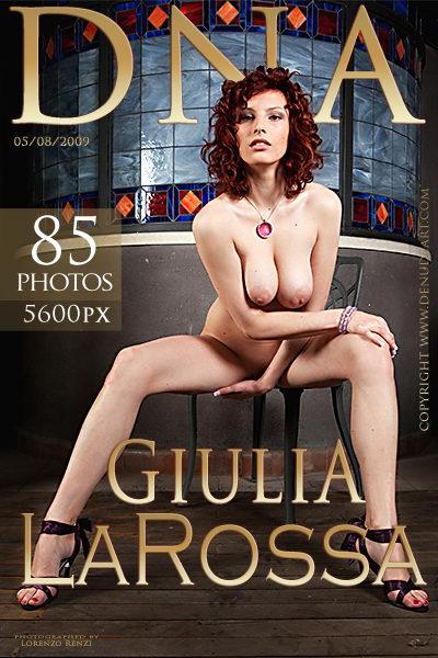 Giulia - `La Rossa` - by Lorenzo Renzi for DENUDEART
