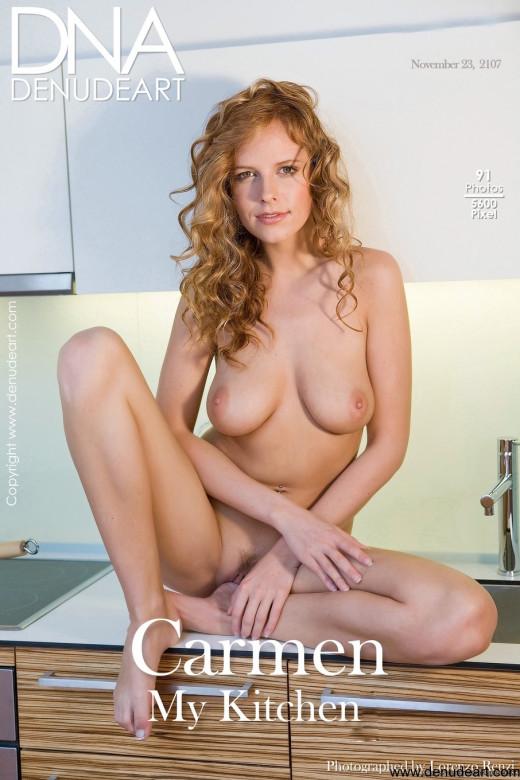 Carmen - `My Kitchen` - by Lorenzo Renzi for DENUDEART