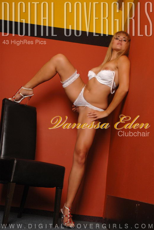 Vanessa Eden - `Clubchair` - for DIGITALCOVERGIRLS