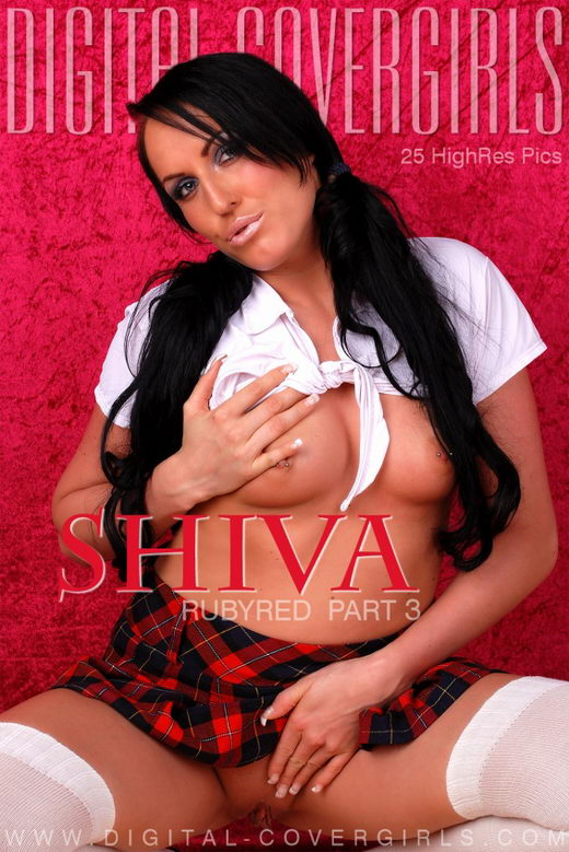 Shiva - `RubyRed Part 3` - for DIGITALCOVERGIRLS