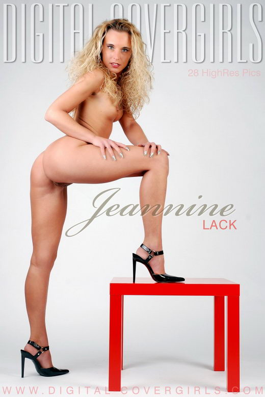Jeannine - `Lack` - for DIGITALCOVERGIRLS