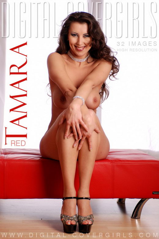 Tamara - `Red` - for DIGITALCOVERGIRLS