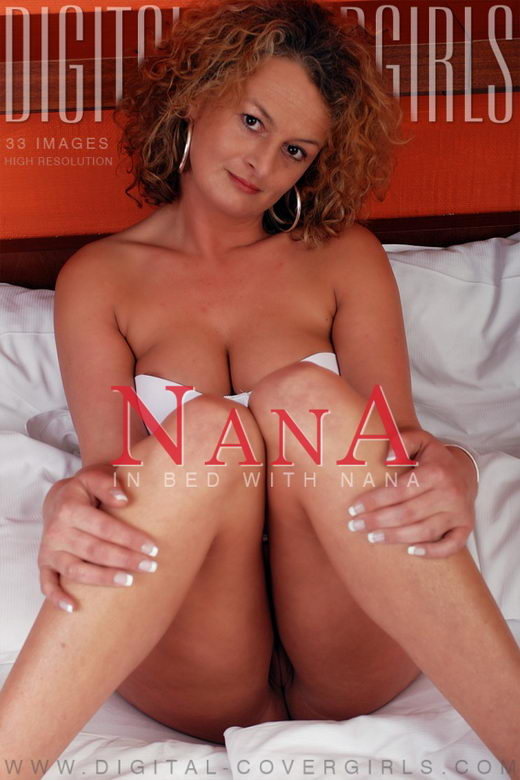 Nana - `In Bed with Nana` - for DIGITALCOVERGIRLS