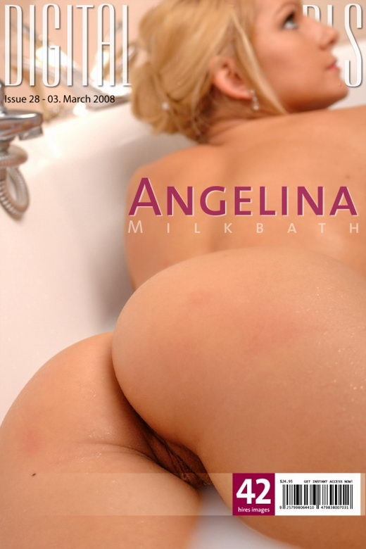 Angelina - `Milkbath` - for DIGITALCOVERGIRLS