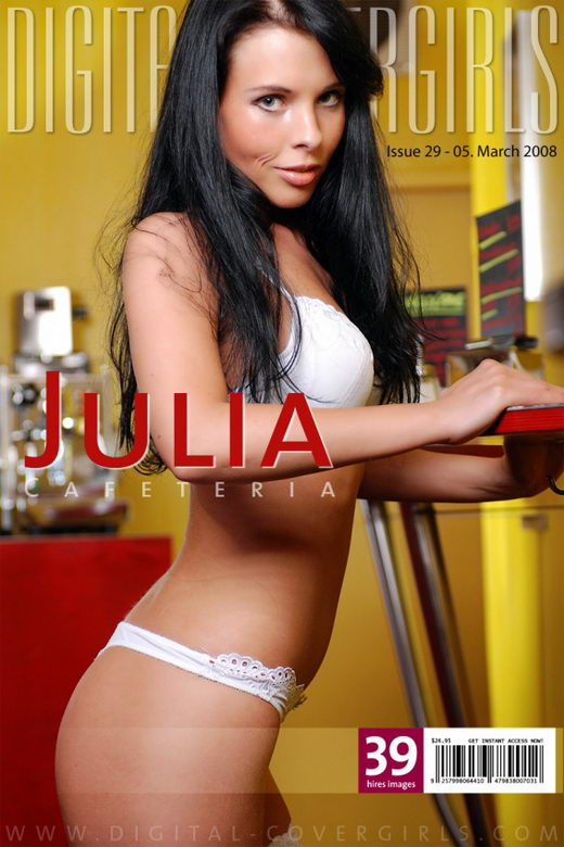 Julia - `Cafeteria` - for DIGITALCOVERGIRLS