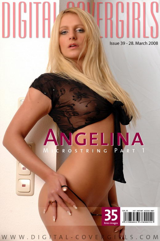 Angelina - `Microstring Part 1` - for DIGITALCOVERGIRLS