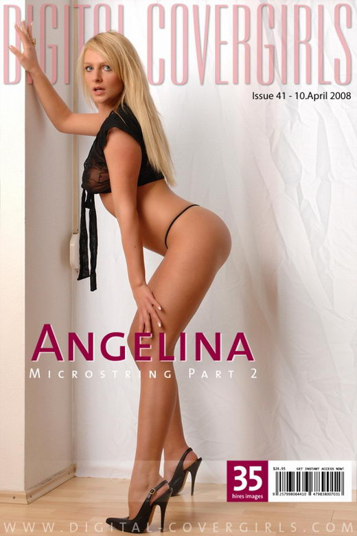 Angelina - `Microstring - Part II` - for DIGITALCOVERGIRLS