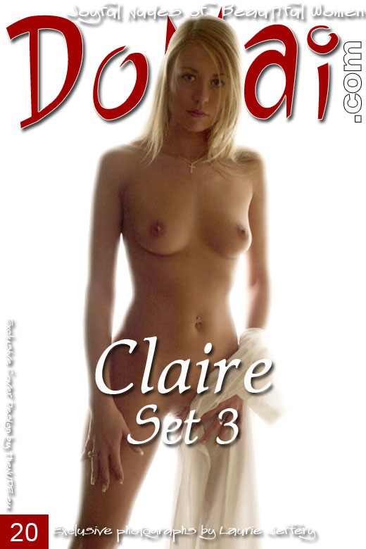 Claire - `Set 3` - by Laurie Jeffery for DOMAI