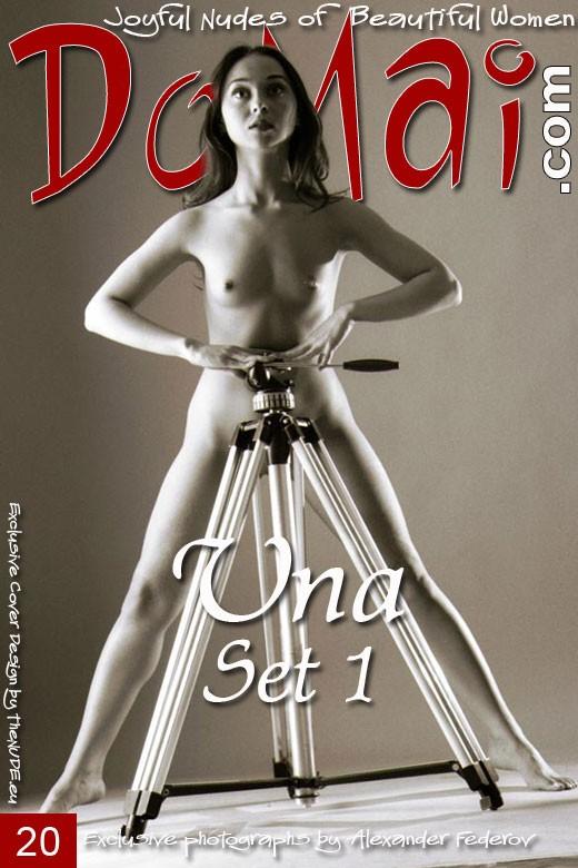 Una - `Set 1` - by Alexander Federov for DOMAI