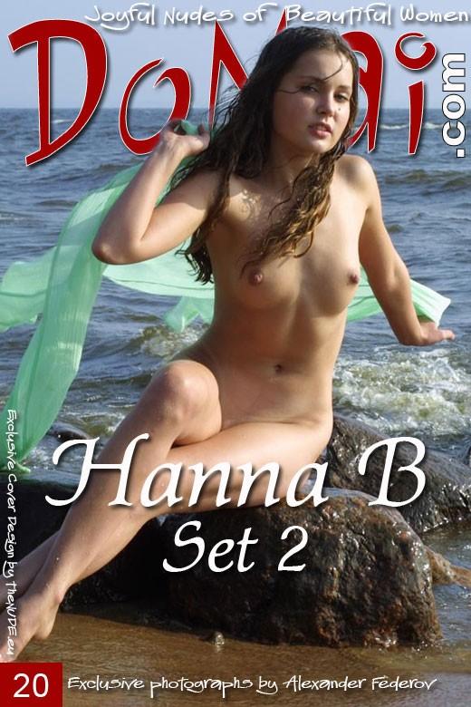 Hanna B - `Set 2` - by Alexander Federov for DOMAI