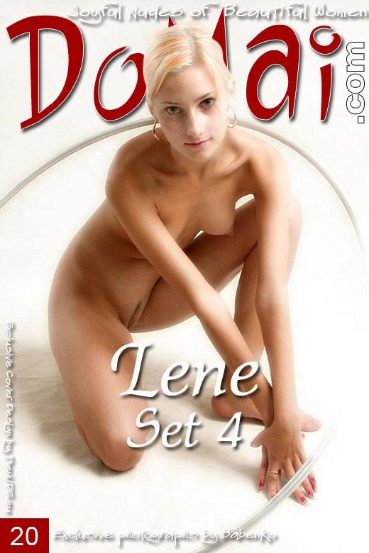Lene in Set 4 gallery from DOMAI by Babenko