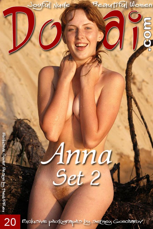 Anna Red - `Set 2` - by Sergey Goncharov for DOMAI