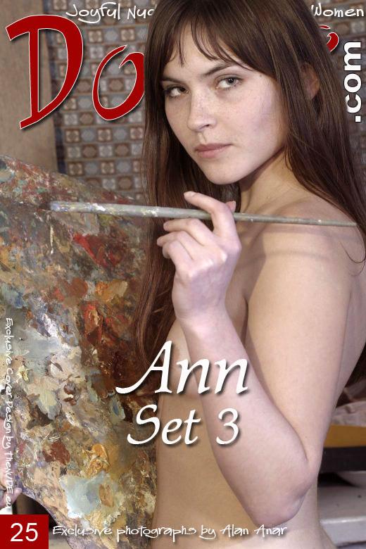 Ann - `Set 3` - by Alan Anar for DOMAI