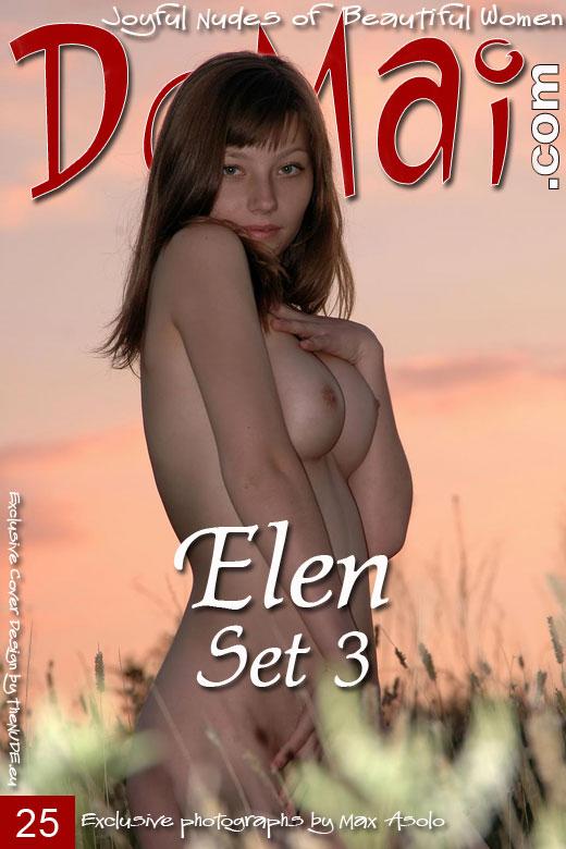 Elen - `Set 3` - by Max Asolo for DOMAI