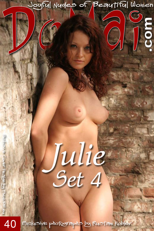 Julie - `Set 4` - by Rustam Koblev for DOMAI