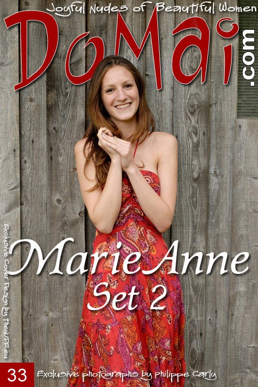 Marie Anne - `Set 2` - by Philippe Carly for DOMAI