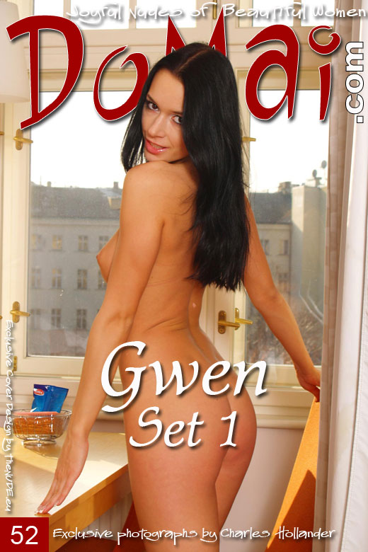 Gwen - `Set 1` - by Charles Hollander for DOMAI